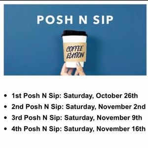 Posh N Sip Coffee Edition Fort Lauderdale